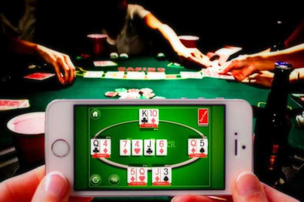 Real poker game