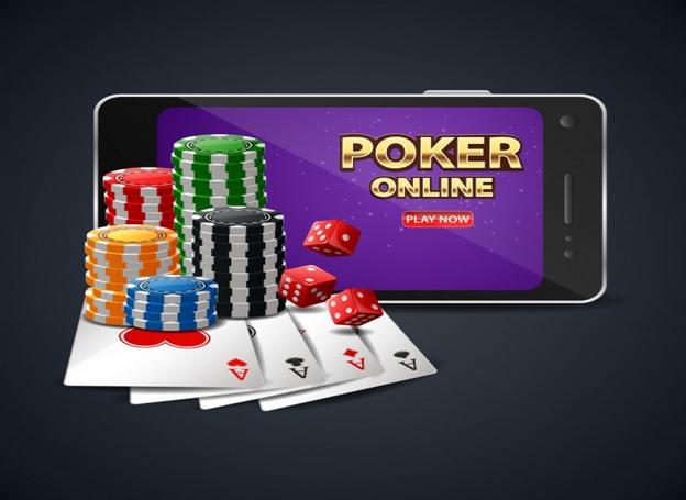 Cards in online poker
