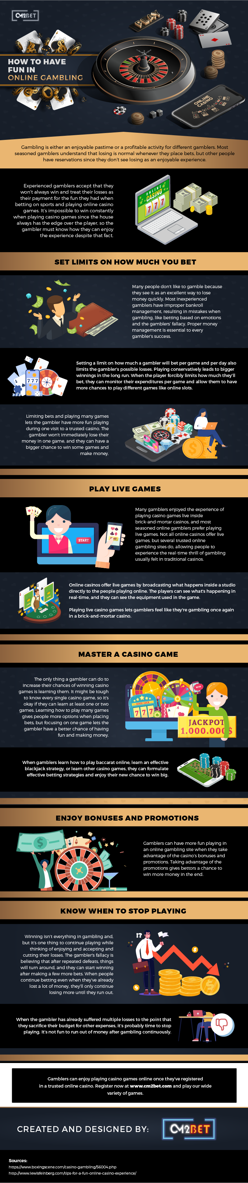 How to Have Fun in Online Gambling – Infographic
